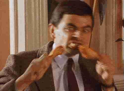 Mr Bean GIF