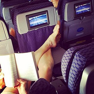 Incomodidad en avión