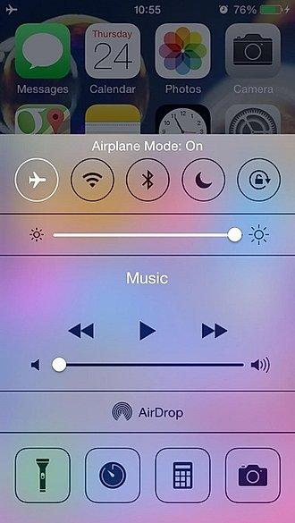 captura de pantalla de iphone