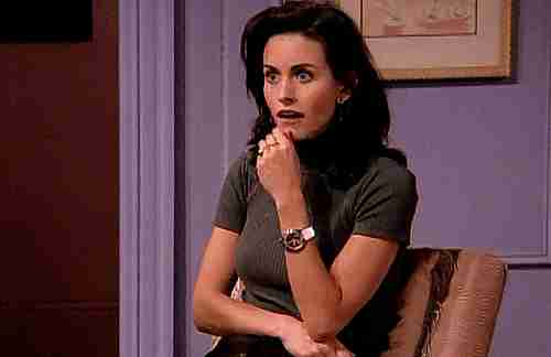Courteney Cox como Mónica en Friends