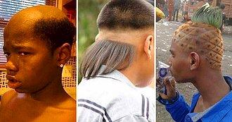 Los cortes de cabello más horrorosos