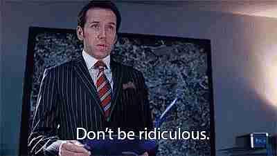 No seas ridículo