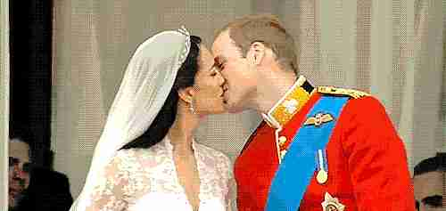 William y Kate en su boda