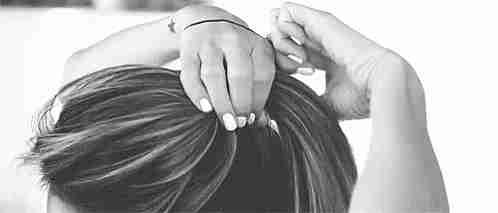 cola para el cabello