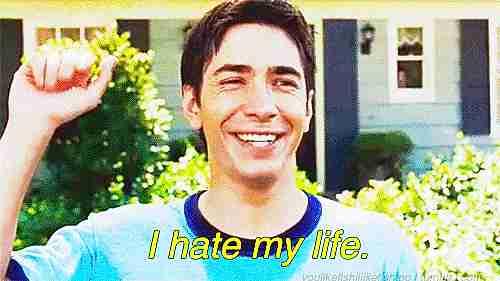 """""""Odio mi vida"""""""