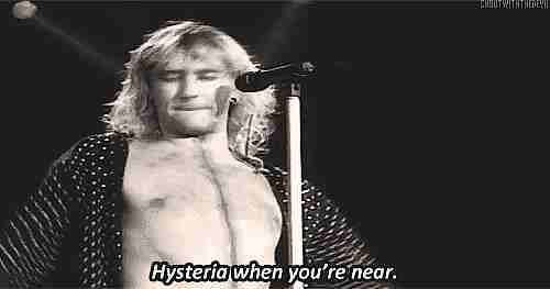 """Hysteria"""" de Def Leppard"""