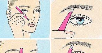 Una Manera Sencilla de Darle Forma a tus Cejas Usando Pinzas