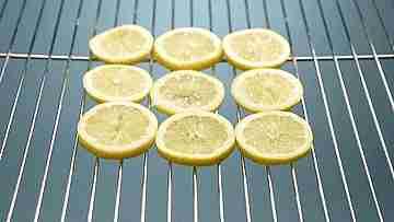 pescado en cama de limones
