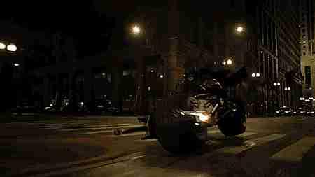 moto de Batman