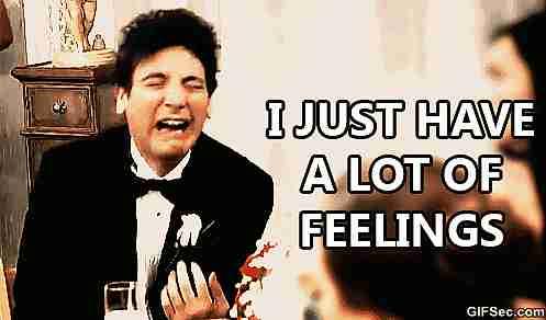 Tengo muchos sentimientos