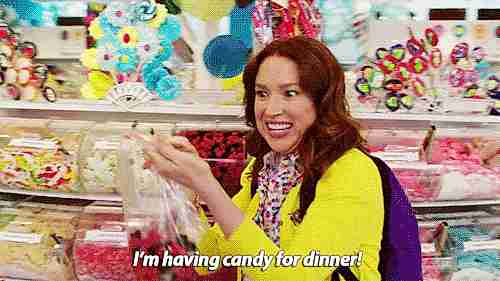 dulces para la cena