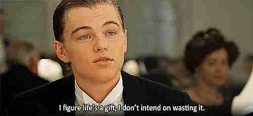 """""""Descubrí que la vida es un regalo, no tengo la intención de desperdiciarla"""""""