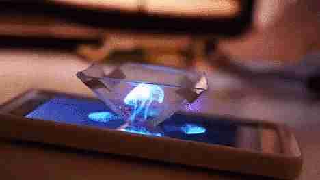 mini holograma