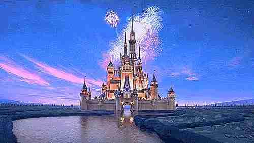 gif castillo Disney