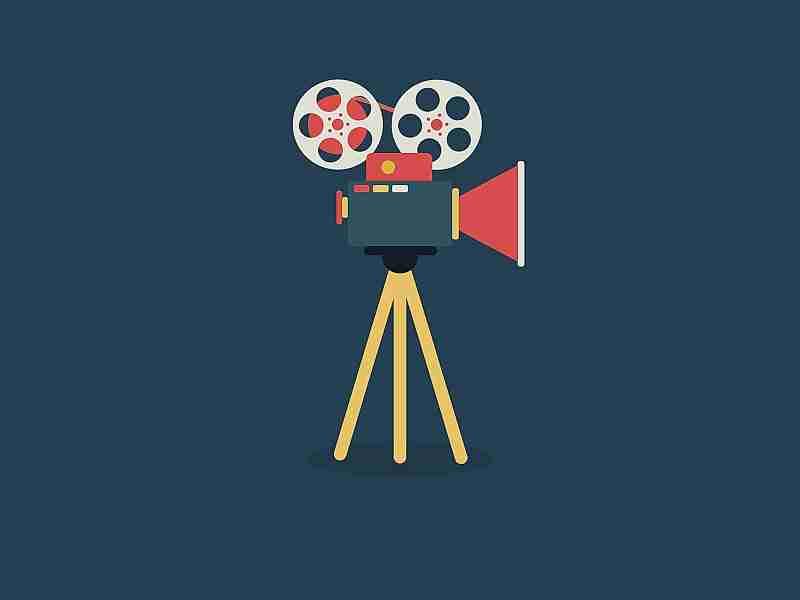 animación sobre el cine