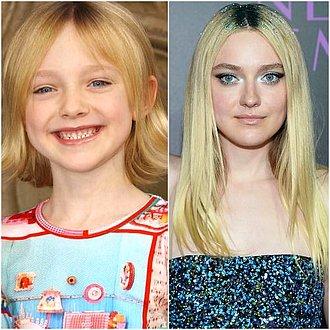 Dakota Fanning - Antes y después