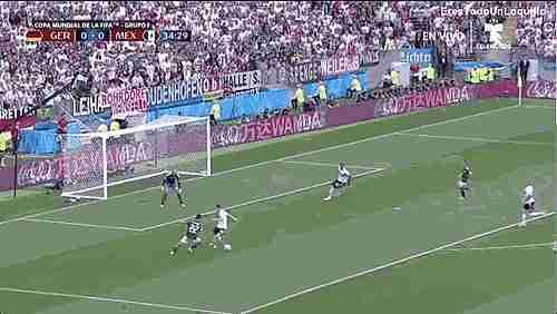 Gol de México ante Alemani