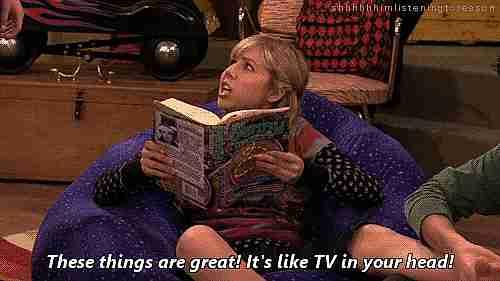 """""""Estas cosas son geniales. Es como ver televisión en tu cabeza""""."""