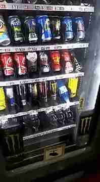 máquina expendedora de refrescos