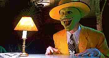 Jim Carrey en la Mascara (the mask)
