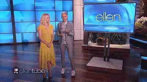 Ellen Degeneres y Kristen Bell