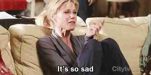 """Es muy triste"""