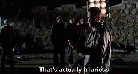 """""""Eso es en realidad hilarante"""""""