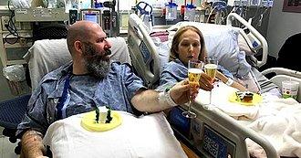 pareja antes de operación