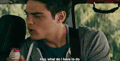 """escena de la película """"A todos los chicos de los que me enamoré"""""""