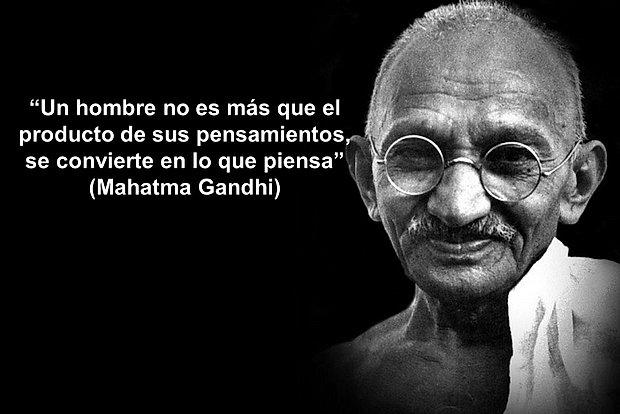 15 Frases Inspiradoras De Gandhi Que Definitivamente