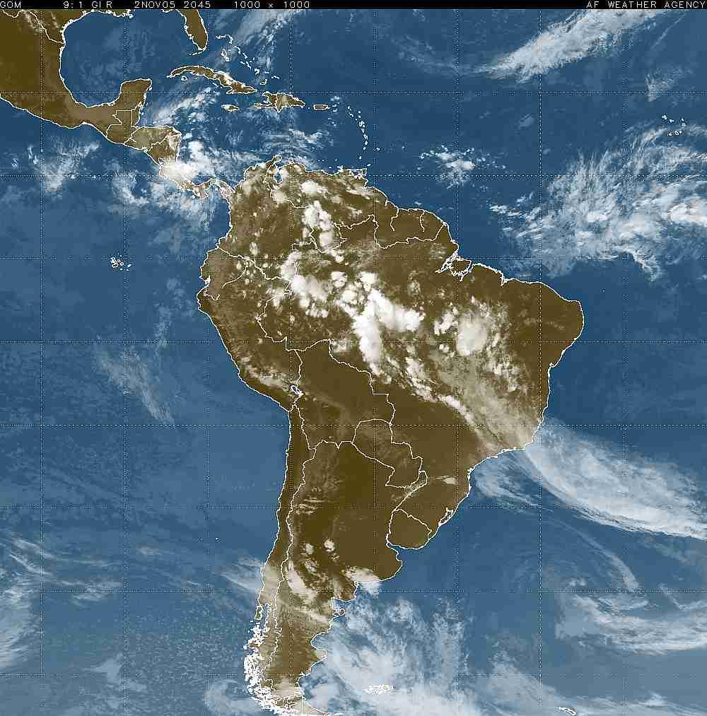 mapa de latinoamérica