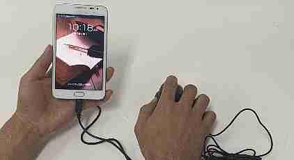 mouse con smartphone