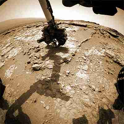 Curiosity en Marte gif