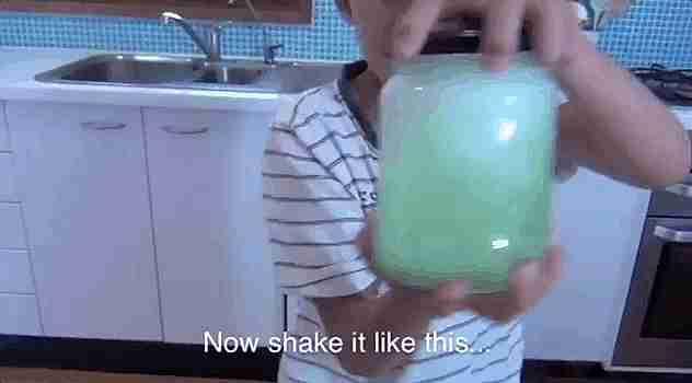 Tornado en un vaso