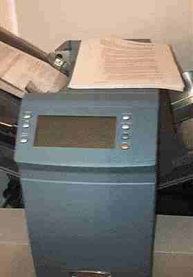 máquina ensobradora