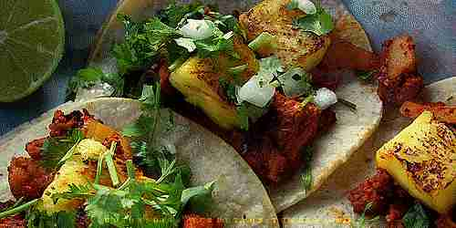 Tacos friens mexicanos