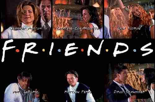 serie friends aniversario