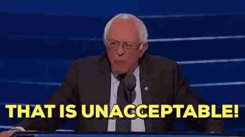 """""""Eso es inaceptable"""""""
