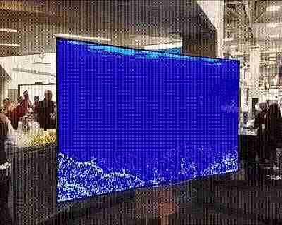 pantalla de 2 caras