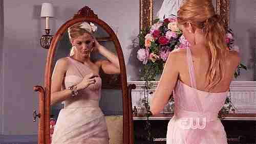 gif frente al espejo