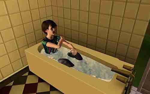 Sims comportándose de manera extraña