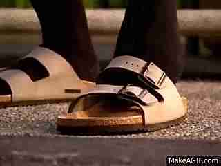 medias sandalias