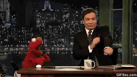 jimmy fallon y elmo bailando