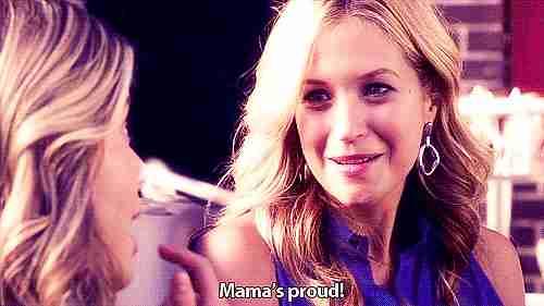 """""""Mamá está orgullosa"""""""