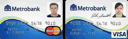 tarjetas de crédito con foto