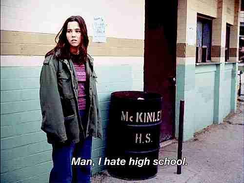 Hombre, odio la escuela