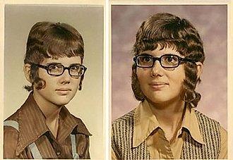 moda horrorosa de los años 80 chico lobo