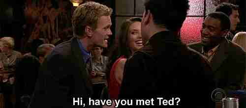Hola, conoces a ted