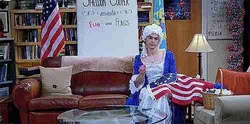 sheldon cooper banderas