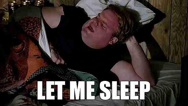 Déjenme dormir, por el amor de Dios